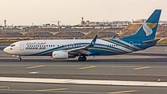 Oman Air Boeing B737-800 A4O-BH Muscat (MCT/OOMS) (Aiel) Tags: omanair boeing b737 b737800 a4obh muscat canon60d tamron70300vc