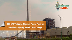 525 MW Tuticorin Thermal Power Plant at Tamilandu Ongoing Works Latest Image (bestprojectsinindia) Tags: bestprojectsinindia meil megha projects kaleshwaram best water grid engneering compnay telangana project videos