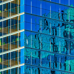 Minneapolis Reflections (David M Strom) Tags: minneapolis abstract architecture davidstrom windows olympus40150 reflections