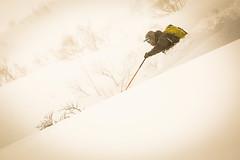 Deep snow (Jonathan Teapot) Tags: canon5dmkiii canon70200f4l f4lcanon40mmf28stm hokkaido teine kokusai hirafu annupuri japan splitboard altus gooseberry