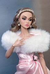 To the Ball (duckhoa_le) Tags: poppy parker young sophisticate portrait photography girl women woman ball gown dress dresses couture blone brunette fair bergdorf goodman split decision princess peach parfait grail pink blue fur pastel barbie integrity toys w club exclusive
