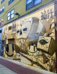 Prelude to Adventure by They Drift (wiredforlego) Tags: graffiti mural streetart urbanart aerosolart publicart seattle washington sea belltown belltowncorridor theydrift