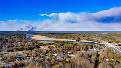 Bass River & Controlled Burn (reclaimednj) Tags: 2019 pinelands pinebarrens controlledburn nj newjersey newgretna bassrivertownship bassriver