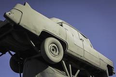 Carhenge 1 (jessicalowell20) Tags: alliance nebraska attractions blue car carhenge cars kitsch northamerica outside prairie sculpture sky summer tan thewest