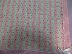Pink-white!!   P1070468 (amalia_mar) Tags: babyblanket pinkwithwhite handknitting handmade love details smile ribbon sundaylights fantasticmonday