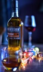 Auchentoshan (Mr_Pudd) Tags: glasgow scotch scotchwhisky americanoak whisky maltwhisky maltwhiskey christmaslights nikond750 nikon redwine wine auchentoshan whiskey afsnikkor50mmf14g