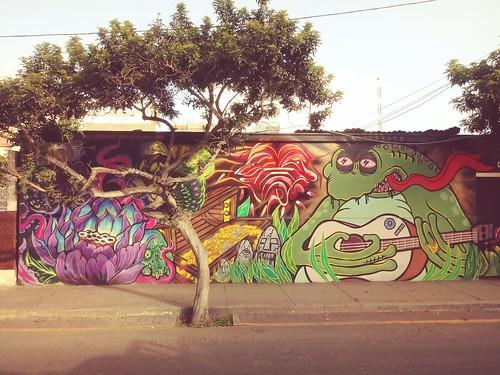 Lima - Calle Mariano Melgar