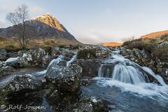 Buachaille Etive Mòr (rjonsen) Tags: scotland alba munro mounain river landscape winter snow long exposure motion blur water tripod