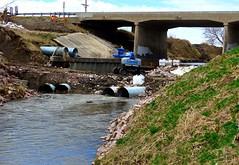 South Logan Creek, Wayne (ali eminov) Tags: wayne nebraska bridges creeks logancreek culverts floodcontroldam