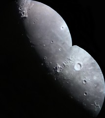 Moon Apr 14th 2019, zooming at 210x over Mare Imbrium's dorsa (Montage) (Lucca Vanoni Ruggiero) Tags: astrophotography astronomy moon solarsystem crater