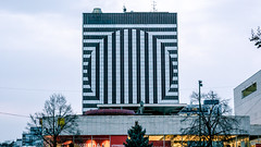 don't let a bad day make you feel... (OndrewDry) Tags: a6000 city streetart hotel building architecture kyjev sky road tree bratislava