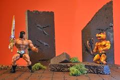 Nanoc Faces Firewolf (nightforce72) Tags: toyphotography motu heman actionfigures nikon d5500 galaxyfighters galaxywarriors fantasy