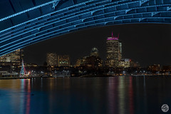 Peek a boo (lesly_valdez) Tags: boston esplanade cityscape prudential nikond750 bridge landscapephotography citylights