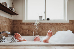 The best thing to do to keep warm on a cold winter day (Elizabeth Sallee Bauer) Tags: active bath bathtub boy bubblebath bubbles child childhood children clean enjoyment family feet fresh fun happiness inddors kid outside playing relaxing soap washing water youth