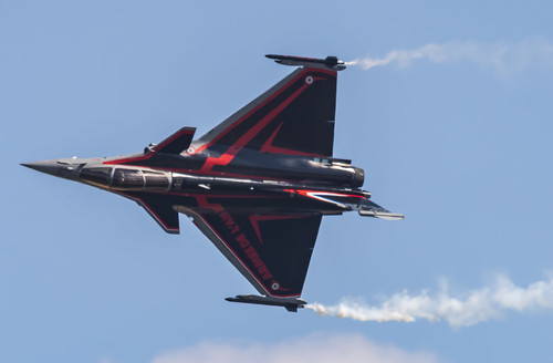 "French Air Force ""Solo Display Team"" Rafale C"