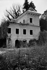Opeka Castle (Koprek) Tags: fujigw690ii film analog 6x9 croatia opeka vinica castle arboretum fomapan 100 koprek