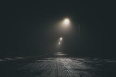 Streets of Fort Worth (scottyofeden) Tags: nightshooters afterdark darkness dark gloomy streetsoffortworth texas fortworth haslet moody nightphoto foggynight foggy fog street longdarkroad rain streetlight