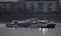 Venus Clipper (1) @ Gallions Reach 01-03-19 (AJBC_1) Tags: riverthames london thamesclipper touristboat dlrblog transport transportation boat ship vessel passengerboat riverbus england unitedkingdom uk ©ajc northwoolwich eastlondon newham shipsinpictures londonboroughofnewham ajbc1 wightshipyardcoltd venusclipper gallionsreach nikond5300 dusk