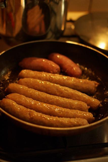 salsiccia di maiale e tacchino con broccoli (3)