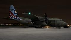 BDF05186 (Bryn Floyd) Tags: raf nightshoot night northolt helicopters helo hercules c130 aftedark longexposure