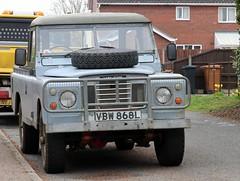 VBW 868L (Nivek.Old.Gold) Tags: 1973 land rover 109 series 3 pickup 2250cc