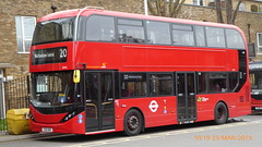 P1150182 2541 YX19 ORS at Walthamstow Central Station Bus Station Walthamstow London (LJ61 GXN (was LK60 HPJ)) Tags: hackneycommunitytransportgroup ctplus alexanderdennistrident2hybrid enviro400hybrid enviro400hhybrid enviro400h enviro400hybridcity enviro400hhybridcity enviro400hcity e400h city 105m 10500 10500mm 2541 yx19ors j4353