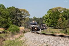 SD80 at Hyde St (travisnewman100) Tags: norfolk southern train railroad rr freight manifest emd sd80mac birmingham east end alabama division georgia inman terminal district 173