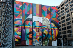 Eduardo Kobra - West Village, NYC (john fullard) Tags: ellis graffiti kobra manhattan mural newyork nyc streetart immigrants ellisisland