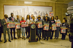 City of Chicago Aldermanic Candidates Press Conference to Support Civilian Police Accountability Council Chicago Illinois 1-9-19 5571 (www.cemillerphotography.com) Tags: cops brutality shootings killings rekiaboyd laquanmcdonald oversight reform corruption excessiveforce expensivelawsuits policeacademy