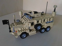 Lego MRAP Cougar JERRV 6x6 (Parm Brick) Tags: lego military army modern warfare custom afol mod moc mrap jerrv cougar 6x6 truck mrapcougarjerrv6x6