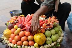 INDIA: Rajasthan (gabrielebettelli56) Tags: asia india rajasthan street hand fruits nikon travel viaggi