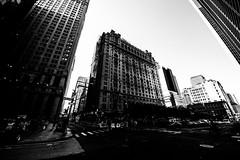 New YorkBW0832 (schulzharri) Tags: new york usa black white schwarz weis wolkenkratzer hochhaus skyscraper architektur city stadt landstrase himmel gebäude einfarbig