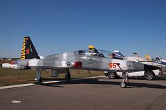 170408_106_SnF_CF5D_N115DV (AgentADQ) Tags: sun n fun flyin expo air show airshow airplane plane military aviation warbird lakeland florida 2017 canadair cf5d n115dv