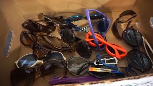 Box of 1960's Sunglasses ($179.20)