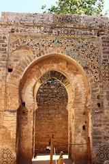 Berber royal tombs, Chellah (Buster&Bubby) Tags: berber mosque almohad romanruins sala shalla phoenecians minaret chellah