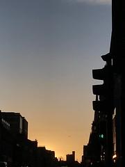 Union Street sunset (Sarah A Christie) Tags: urban skyline silhouette aberdeen sky sunset