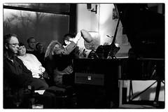 David Grubbs & Apartment House perform Luc Ferrari (with guest pianist Brunhild Ferrari) @ Cafe Oto, London, 13th February 2019 (fabiolug) Tags: piano pianoforte hat hats davidgrubbs apartmenthouse brunhildferrari lucferrari lucferrarifestival stereospasmsfestival composer compositions cafeoto london dalston music gig performance concert live livemusic leicammonochrom mmonochrom monochrom leicamonochrom leica leicam rangefinder blackandwhite blackwhite bw monochrome biancoenero zeisscsonnartf1550mmzm zeisszm50mmf15csonnar zeisscsonnar zeisssonnar zeiss sonnar 50mm sonnar50mm 50mmf15
