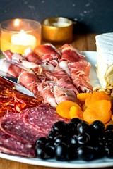 How to Make a Charcuterie Board Final 2 (Jossy D) Tags: charcuterie board meat cheese salami proscuitto olives walnuts apricots breadsticks