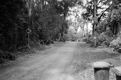 Hume Lane..!! (Matthew Paul Argall) Tags: canonsnappy20 fixedfocus 35mmfilm blackandwhite blackandwhitefilm kentmere100 100isofilm road street humelane roadsign streetsign
