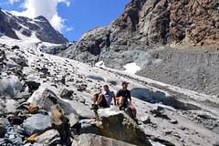 Sul ghiacciaio di Ventina (giorgiorodano46) Tags: luglio2015 july 2015 giorgiorodano valmalenco valtellina lombardia italy chiareggio alpeventina ghiacciaio ghiacciaiodiventina hiking escursionismo