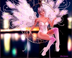 ☽To The Moon & Back☾ (Cla Jones) Tags: fantasy angels irrisistible shop peacock sweet costume outfit carnival show