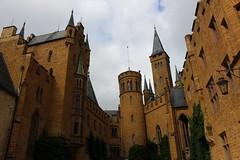 Burg Hohenzollern / Hohenzollern Castlе / Замъкът Хоенцолерн (mitko_denev) Tags: германия баденвюртемберг germany deutschland badenwürttemberg хоенцолерн hohenzollern castle burg