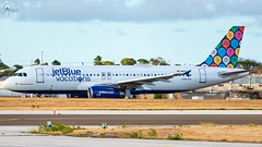 JetBlue | N603JB | Airbus A320-232 | BGI (Terris Scott Photography) Tags: aircraft airplane aviation plane spotting nikon d750 travel barbados jet jetliner jetblue airbus a320 tamron sp 70200mm f28 di vc usd g2 special livery