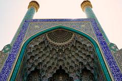 Isfahan, Iran (Luke Kwiatkowski) Tags: iran isfahan abbasi great mosque blue tiles architecture