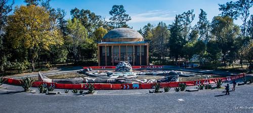 2018 - Mexico -  Mexico City - Fuente de Tláloc