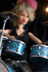 IMG_5214 (HaleysRepaints) Tags: barbie barbies barbiedoll customdolls custombarbies custom dolls customdoll band drummer collectors