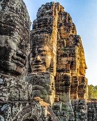 Faces (SdosRemedios) Tags: cambodia ancientkingdoms watthom siemreap siemreapprovince kh
