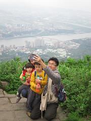 IMG_5922 (kenner116) Tags: 台灣 taiwan 新北 newtaipei 觀音山 guanyinshan guanyinmountain 硬漢嶺 淡水河 danshuiriver tamsuiriver guandubridge 關渡大橋