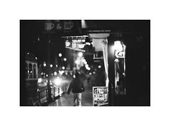 *Street lights.  out-takes (niko**) Tags: leica leicam2 canon50mmf095 modifiedleicammount ilford xp2400 135 35mm filmphotography yokohama