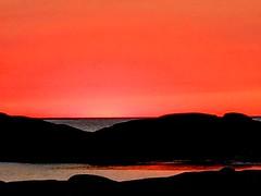 fotö (helena.e) Tags: helenae fotö husbil motorhome älsa rv hav ocean klippor orange solnedgång sunset water vatten